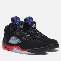 Мужские кроссовки Jordan Air Jordan 5 Retro Top 3 30th Anniversary Black/New Emerald/Fire Red/Grape Ice