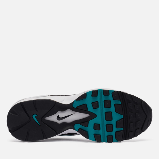 Мужские кроссовки Nike Air Max 96 II White/Mystic Teal/Black/Reflect Silver
