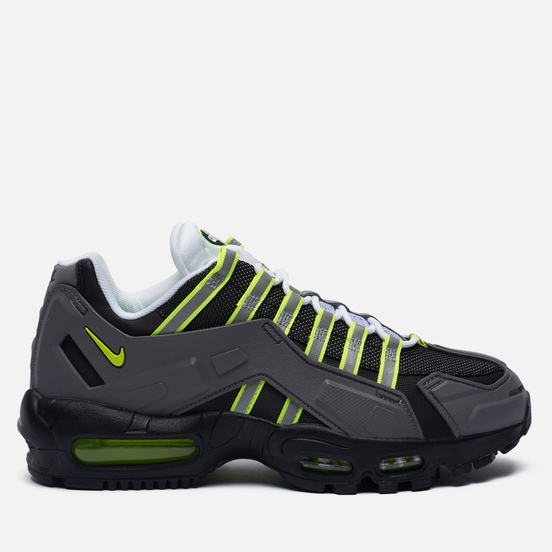 Кроссовки Nike Air Max 95 NDSTRKT Black/Neon Yellow/Medium Grey