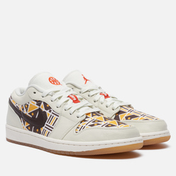 Мужские кроссовки Jordan Air Jordan 1 Low Quai 54 Sail/Team Orange/Baroque Brown