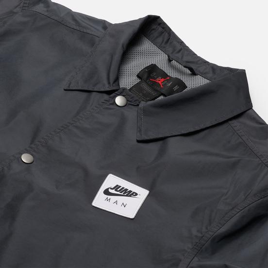 Мужская куртка ветровка Jordan Jumpman Classics Smoke Grey/Black/White/White