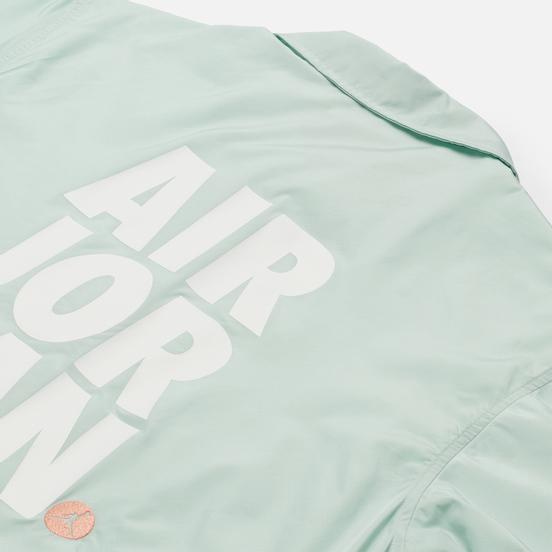 Мужская куртка ветровка Jordan Jumpman Classics Barely Green/Pure Platinum/Apricot Agate