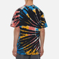 Мужская футболка Nike Tie Dye Black/Bright Crimson/White фото - 3