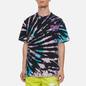 Мужская футболка Nike Tie Dye Black/Baltic Blue/Hyper Pink фото - 2