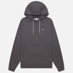 Мужская толстовка Nike NRG Washed Hoodie Charcoal Heathr/White