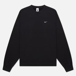 Мужская толстовка Nike NRG Washed Crew Black/White