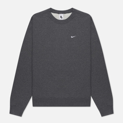 Мужская толстовка Nike NRG Washed Crew Charcoal Heathr/White