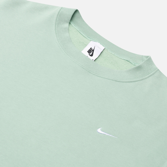 Мужская толстовка Nike NRG Washed Crew Pistachio Frost/White