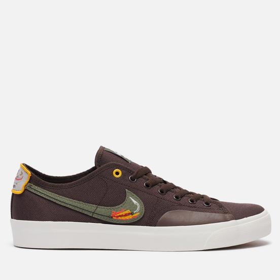 Мужские кроссовки Nike SB Blazer Court DVDL Baroque Brown/Medium Olive/Light Bone