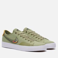 Мужские кроссовки Nike SB Blazer Court DVDL Dusty Olive/Medium Olive/Light Bone/Navy