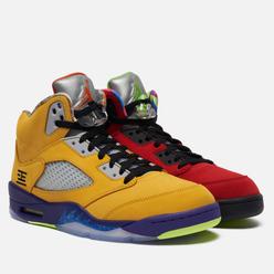 Мужские кроссовки Jordan Air Jordan 5 Retro SE What The Varsity Maize/Solar Orange/Court Purple