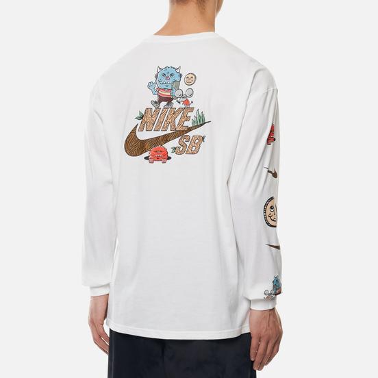 Мужской лонгслив Nike SB Artist White/Black