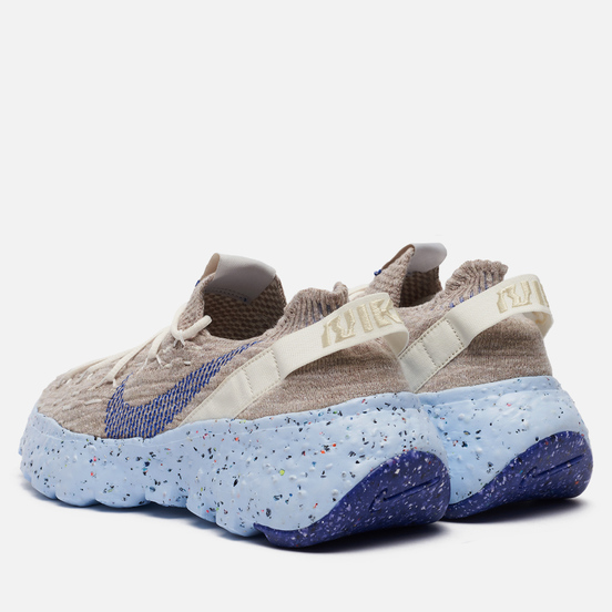 Мужские кроссовки Nike Space Hippie 04 Sail/Astronomy Blue/Fossil/Chambray Blue