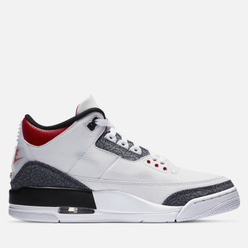 Мужские кроссовки Jordan Air Jordan 3 Retro SE White/Fire Red/Black