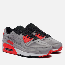 Кроссовки Nike Air Max 90 QS Night Silver/Night Silver/Bright Crimson