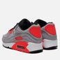 Кроссовки Nike Air Max 90 QS Night Silver/Night Silver/Bright Crimson фото - 2