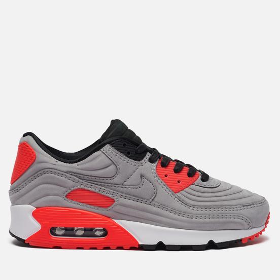 Кроссовки Nike Air Max 90 QS Night Silver/Night Silver/Bright Crimson