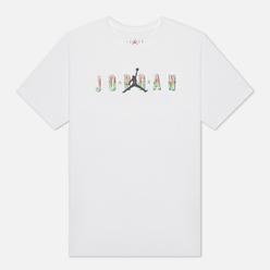 Мужская футболка Jordan Sport DNA HBR Crew White