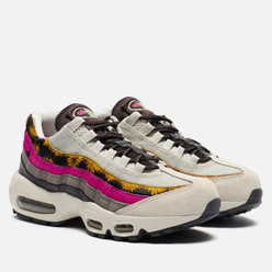 Женские кроссовки Nike Air Max 95 Premium Daisy Chain Light Bone/White/Velvet Brown/Olive Grey
