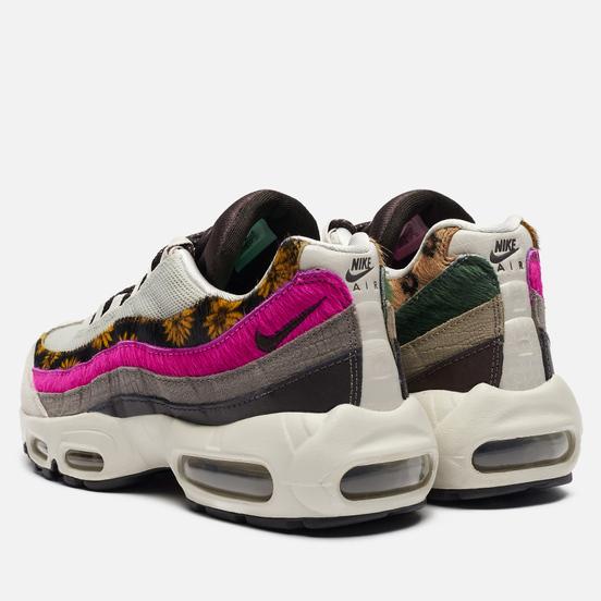 Женские кроссовки Nike Air Max 95 Premium Daisy Chain Light Bone/White/Velvet Brown/Olive Grey