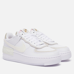 Женские кроссовки Nike Air Force 1 Shadow White/Sail/Stone/Atomic Pink