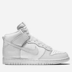 Мужские кроссовки Nike Dunk High SP White/White/Pure Platinum