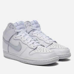 Мужские кроссовки Nike Dunk High SP White/White/Pure Platinum