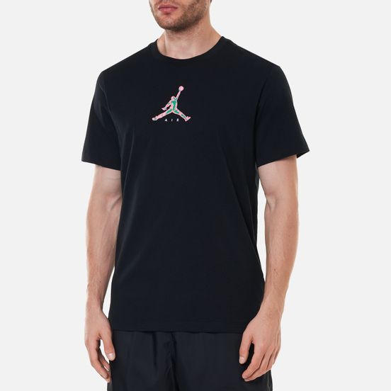 Мужская футболка Jordan 23 Swoosh Crew Neck Black
