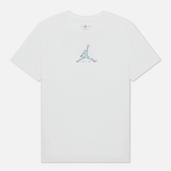Мужская футболка Jordan 23 Swoosh Crew Neck White