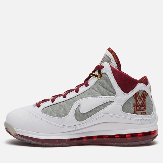 Мужские кроссовки Nike LeBron VII QS MVP White/Bronze/Team Red/Wolf Grey