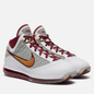 Мужские кроссовки Nike LeBron VII QS MVP White/Bronze/Team Red/Wolf Grey фото - 0