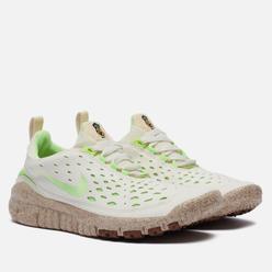Мужские кроссовки Nike Free Run Trail Premium Pineapple Coconut Milk/Lime Glow/Metallic Gold
