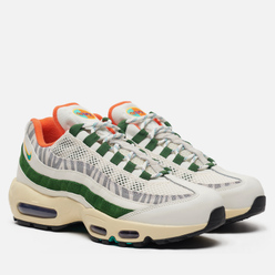 Кроссовки Nike Air Max 95 Era Safari Sail/New Green/Forest Green