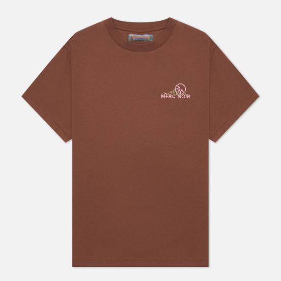 Мужская футболка M+RC Noir Mountain Brown Gold