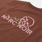 Мужская футболка M+RC Noir Mountain Brown Gold фото - 2