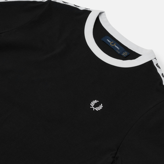 Женское платье Fred Perry Taped Ringer Black