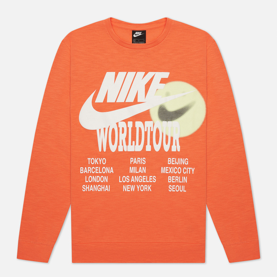 Мужской лонгслив Nike LS World Tour Turf Orange