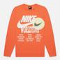 Мужской лонгслив Nike LS World Tour Turf Orange фото - 0