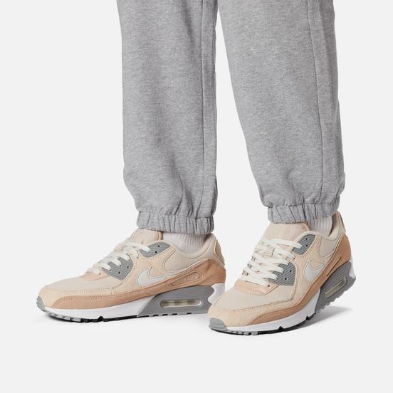 Кроссовки Nike Air Max 90 Premium Hemp/Summit White/Sanddrift