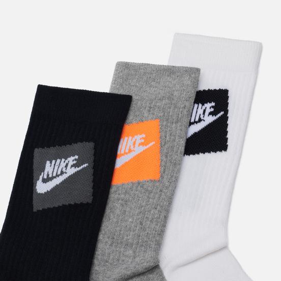 Комплект носков Nike 3-Pack Everyday Essential White/Black/Grey
