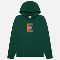 Мужская толстовка Nike SB Graphic Skate Hoodie Gorge Green/Midnight Navy