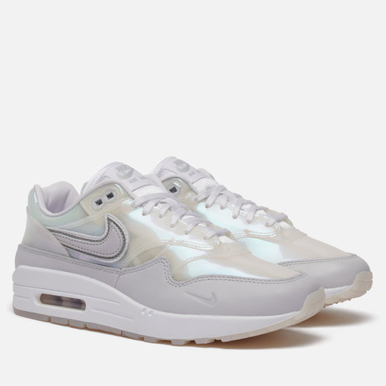 Женские кроссовки Nike Air Max 1 SNKRS Day White/Pure Platinum/Metallic Silver