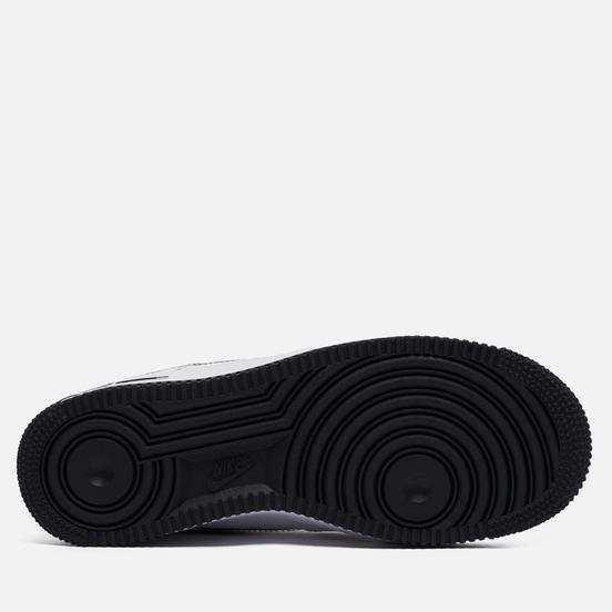 Мужские кроссовки Nike Air Force 1 07 LV8 Brushstroke Swoosh White/Black/University Red