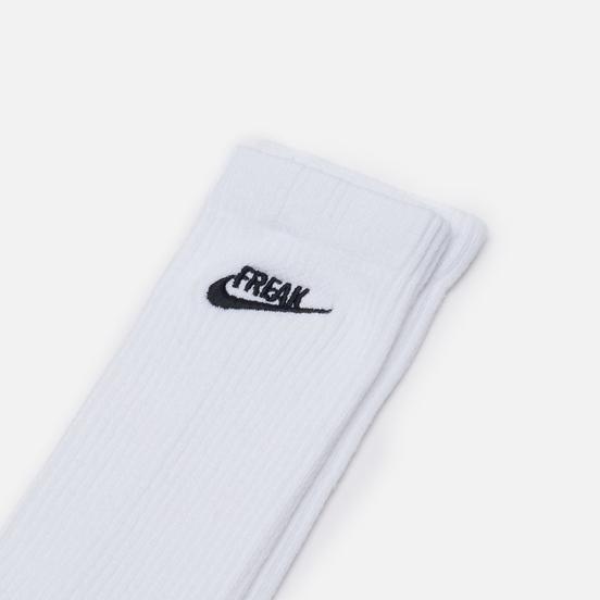 Носки Nike Everyday Plus Cushioned Freak White/Pure Platinum/Black