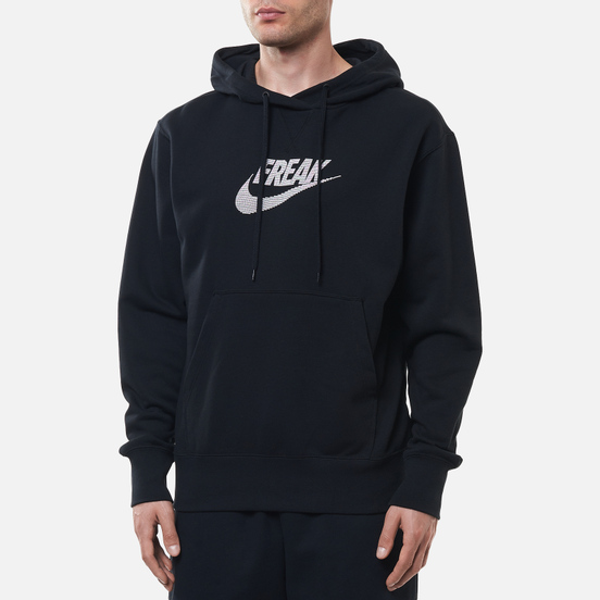 Мужская толстовка Nike Giannis Freak Pullover Hoodie Black/Summit White