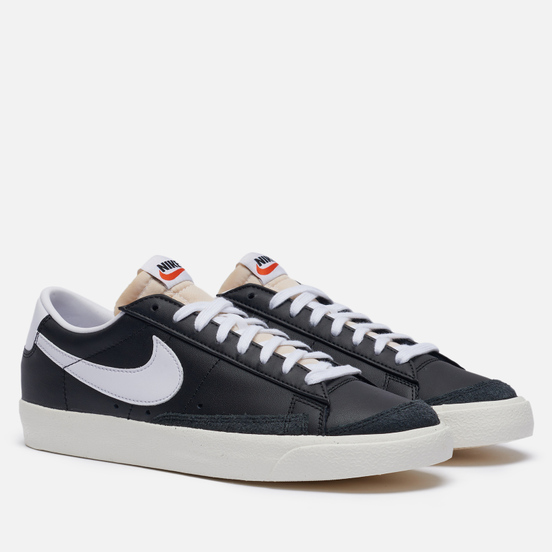 Кроссовки Nike Blazer Low 77 Vintage Black/White/Sail/Black