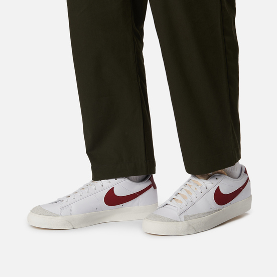 Мужские кроссовки Nike Blazer Low 77 Vintage White/Team Red/White/Sail