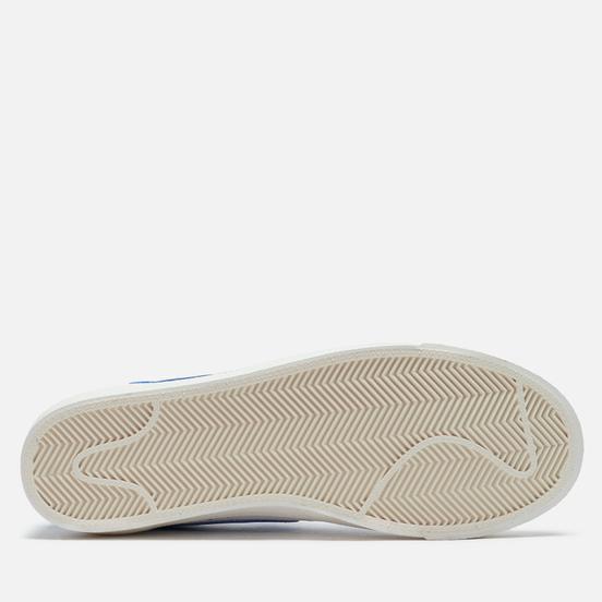 Мужские кроссовки Nike Blazer Low 77 Vintage White/Hyper Royal/White/White