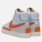 Мужские кроссовки Nike Blazer Mid 77 Infinite White/Kumquat/Aurora Green фото - 2