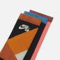 Комплект носков Nike SB 3-Pack Everyday Max Lightweight Crew Multi-Color/Orange/Pink/Black фото - 1